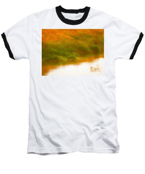 Misty Yellow Hue -lone Jacana Baseball T-Shirt