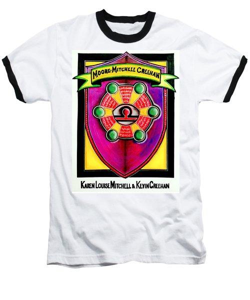 Mitchell-creehan Ancestral Healing Family Crest Baseball T-Shirt