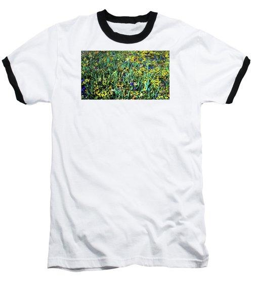 Mixed Wildflowers In Texas Baseball T-Shirt