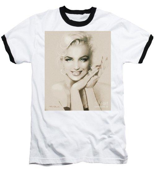 Mm 133 Sepia Baseball T-Shirt