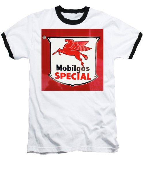 Mobilgas Vintage 82716 Baseball T-Shirt