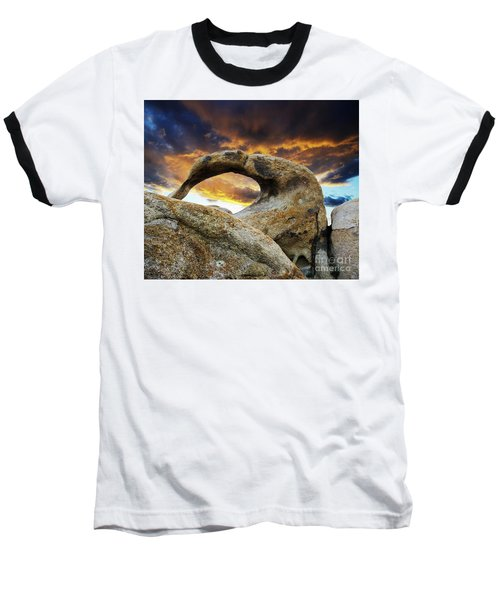 Baseball T-Shirt featuring the photograph Mobious Arch California 7 by Bob Christopher