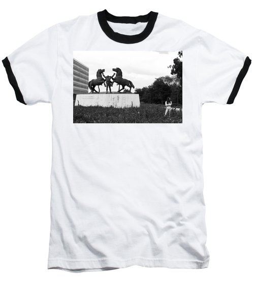 Model And The Monument Baseball T-Shirt