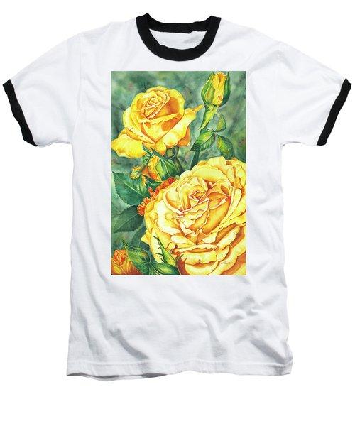 Mom's Golden Glory Baseball T-Shirt