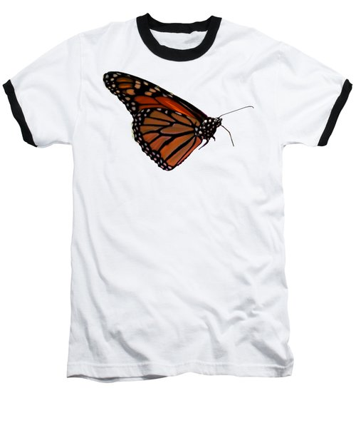 Monarch Butterfly No.41 Baseball T-Shirt by Mark Myhaver