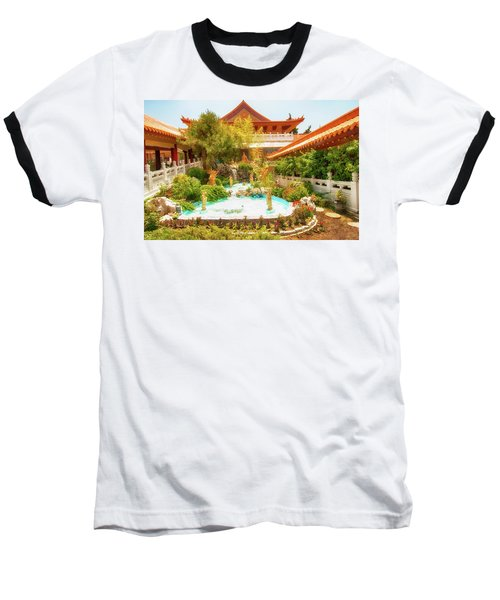 Baseball T-Shirt featuring the photograph Monastery by Joseph Hollingsworth