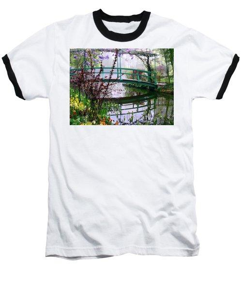 Monet's Bridge Baseball T-Shirt