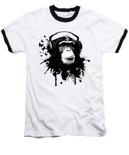 Monkey Business Baseball T-Shirt by Nicklas Gustafsson