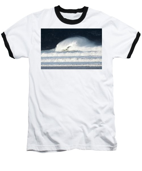 Baseball T-Shirt featuring the photograph Monster Wave by Nicholas Burningham