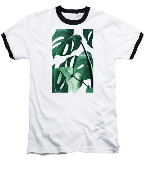 Monstera Baseball T-Shirt by Uma Gokhale