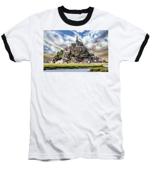Mont Saint-michel Baseball T-Shirt