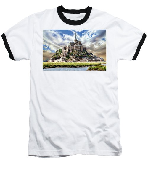 Mont Saint-michel Baseball T-Shirt