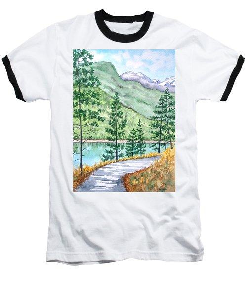 Montana - Lake Como Series Baseball T-Shirt