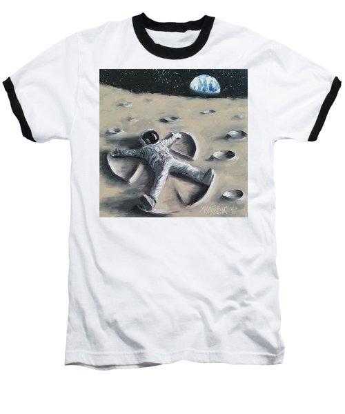 Moon Angel Baseball T-Shirt