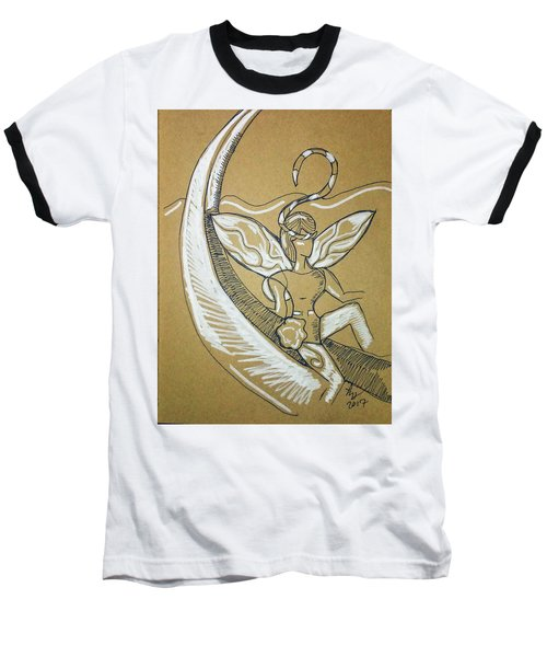Moon Fairy Baseball T-Shirt