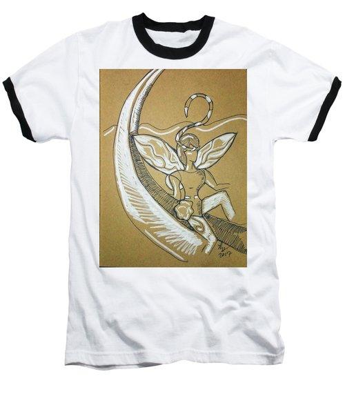 Moon Fairy Baseball T-Shirt