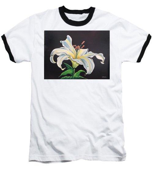 Moon Light Lilly Baseball T-Shirt