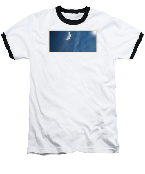 Moon Roof  Baseball T-Shirt by Laura Ragland