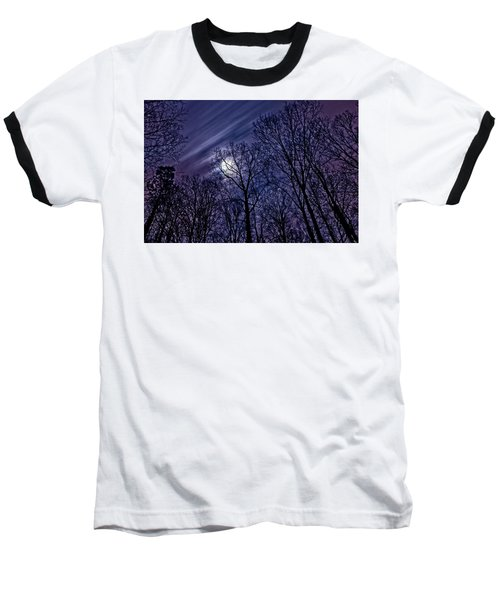 Moonlight Glow Baseball T-Shirt