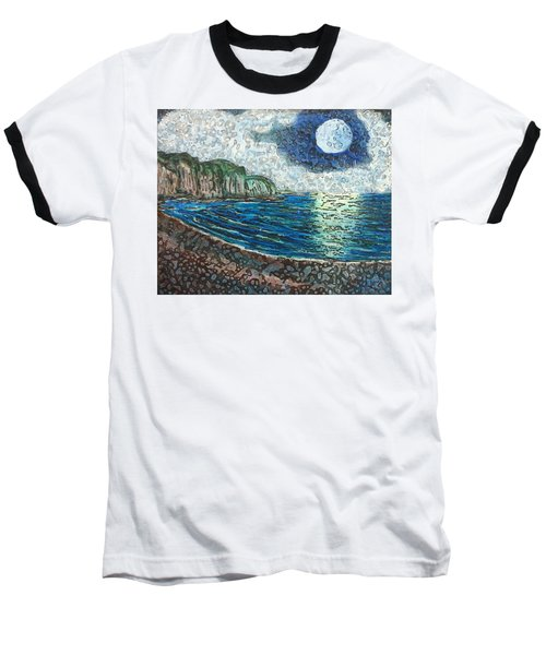 Moonlight In Pourvill Baseball T-Shirt