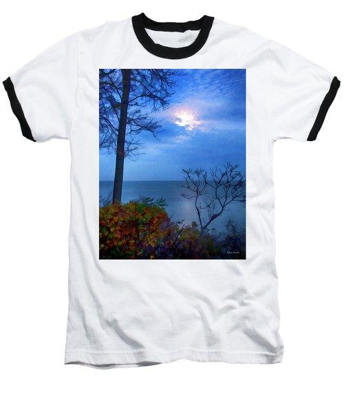 Moonset 1 Baseball T-Shirt