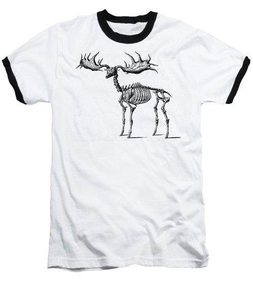 Moose Skeleton T Shirt Design Baseball T-Shirt