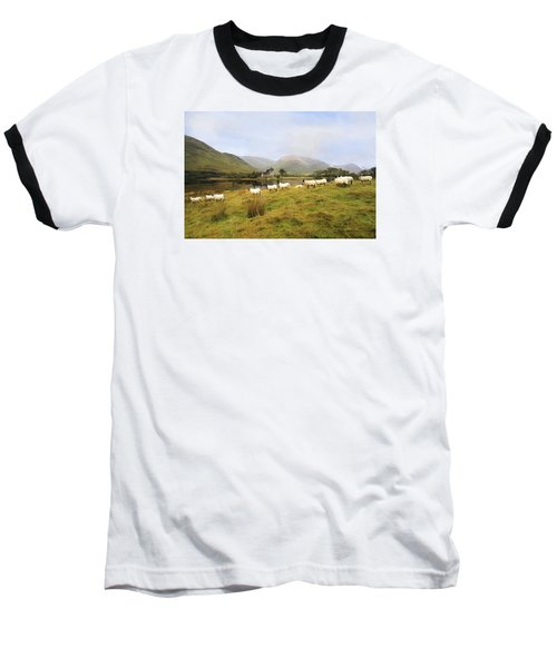 Morning At Kilchurn Baseball T-Shirt by Roy  McPeak