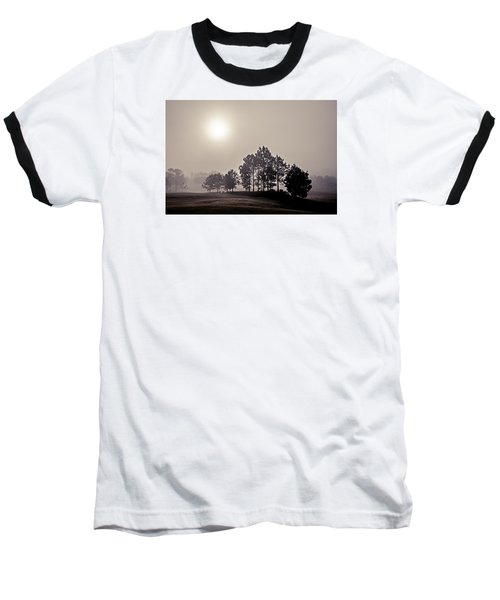 Baseball T-Shirt featuring the photograph Morning Calm by Annette Berglund