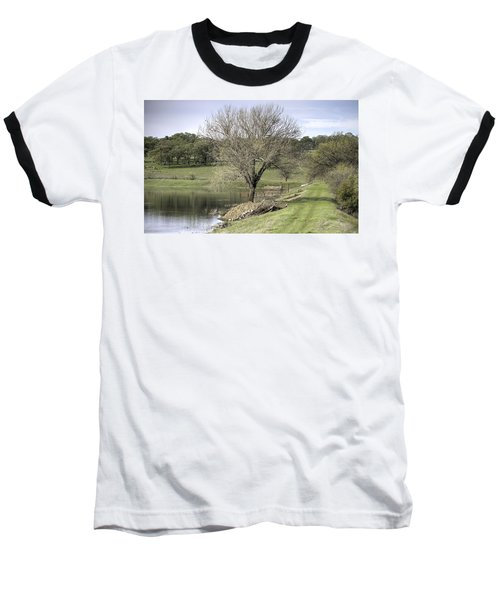 Morning Calm Baseball T-Shirt