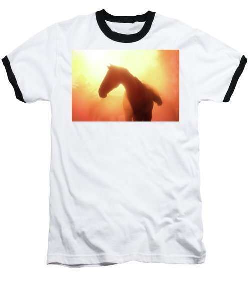 Morning Glory - Three Bars Ranch Baseball T-Shirt