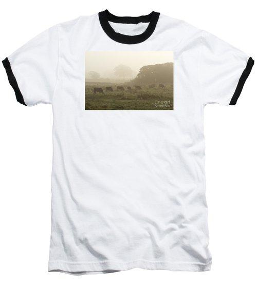 Morning Graze Baseball T-Shirt by Gary Bridger