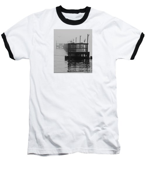 Baseball T-Shirt featuring the photograph Morning Meeting by Joe Jake Pratt