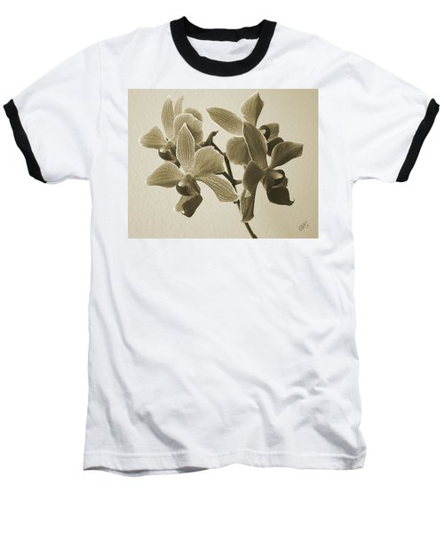 Morning Orchid Baseball T-Shirt