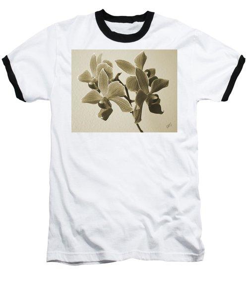 Morning Orchid Baseball T-Shirt