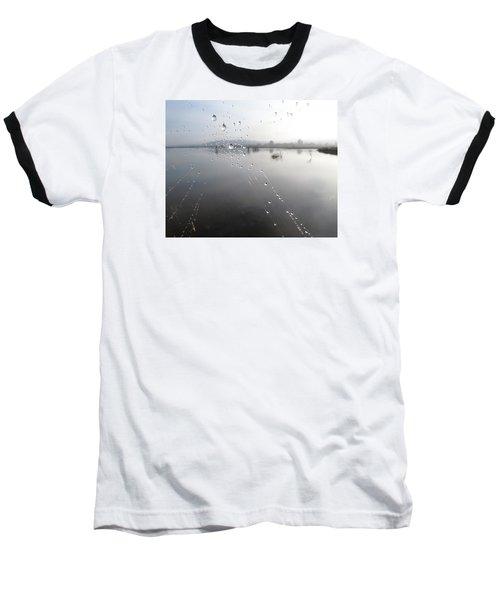 Morning Pearls Baseball T-Shirt by I'ina Van Lawick