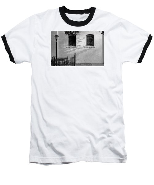 Baseball T-Shirt featuring the photograph Morning Shadows by Monte Stevens