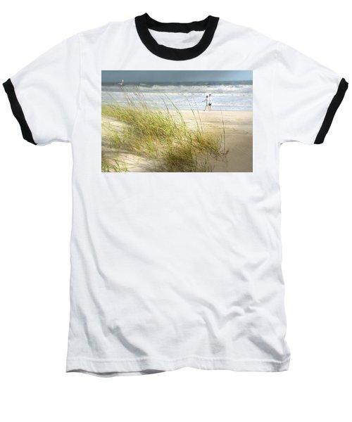Mid Morning Stroll Baseball T-Shirt