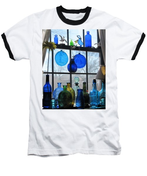 Baseball T-Shirt featuring the photograph Morning Sun by John Scates