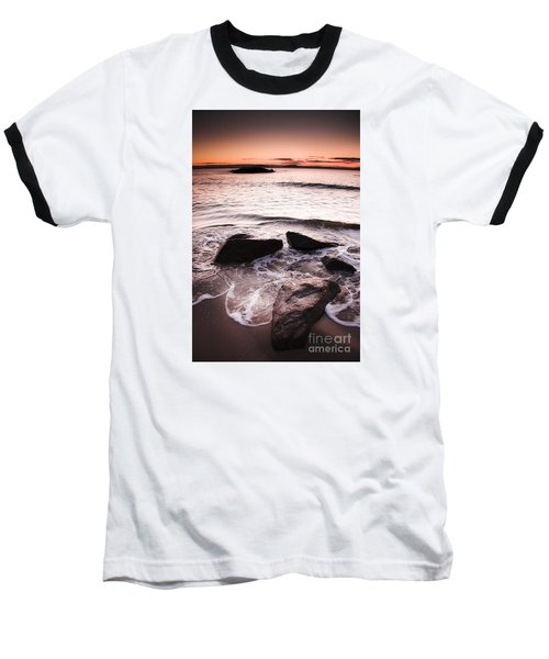 Baseball T-Shirt featuring the photograph Morning Tide by Jorgo Photography - Wall Art Gallery