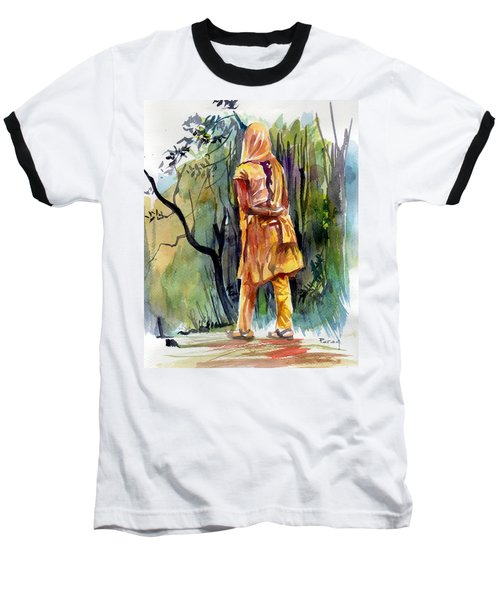 Morning Walk Baseball T-Shirt