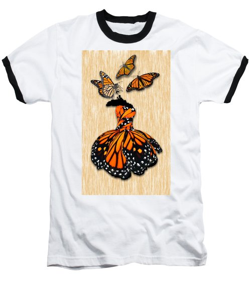 Baseball T-Shirt featuring the mixed media Morphing by Marvin Blaine