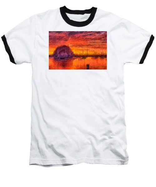 Morro Bay Marina Baseball T-Shirt