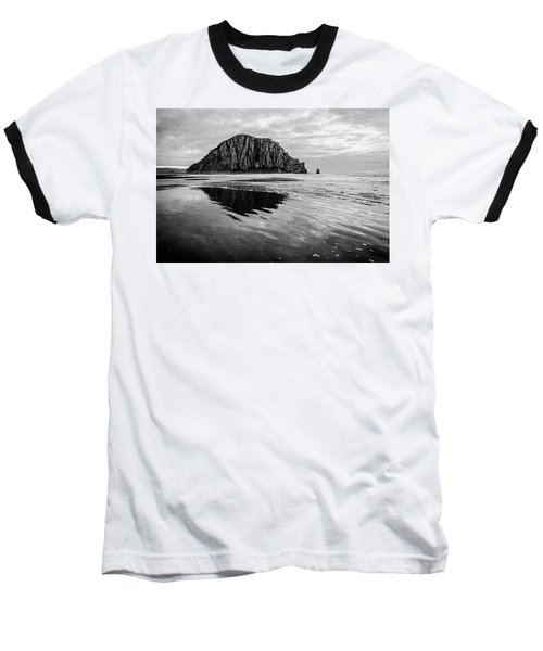 Baseball T-Shirt featuring the photograph Morro Rock II by Margaret Pitcher