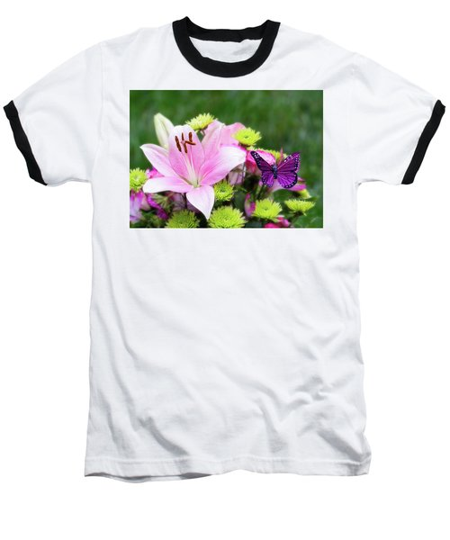 Mother's Day Bouquet  Baseball T-Shirt