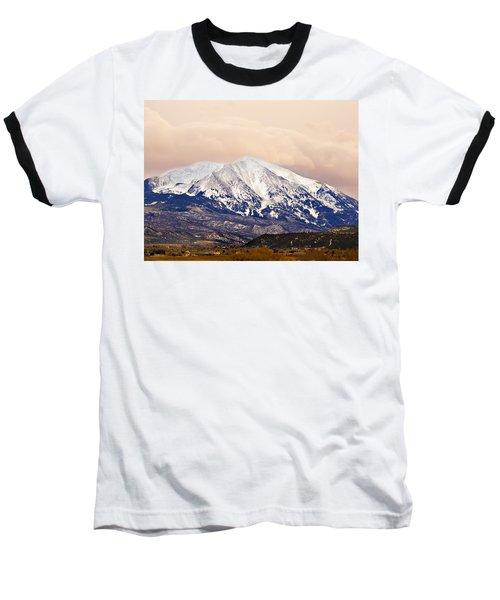 Mount Sopris Baseball T-Shirt by Marilyn Hunt