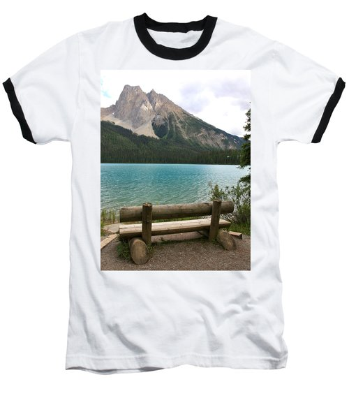 Mountain Calm Baseball T-Shirt