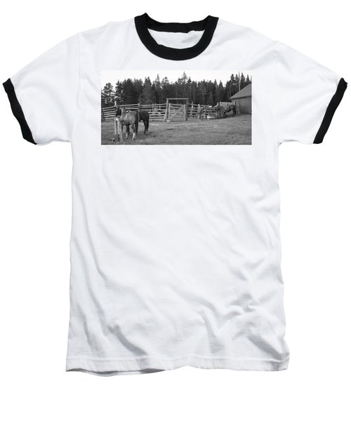 Mountain Corrals Baseball T-Shirt