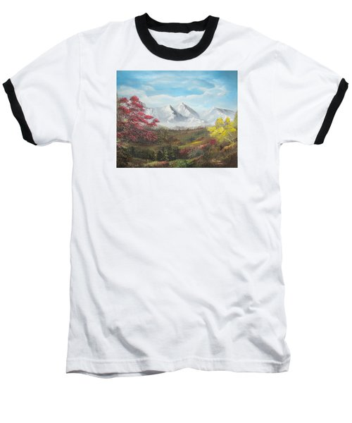 Mountain High Baseball T-Shirt