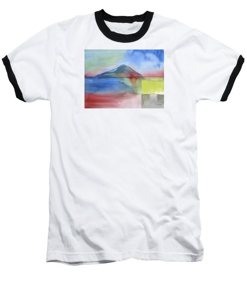 Baseball T-Shirt featuring the painting Just Before The Rain by Frank Bright