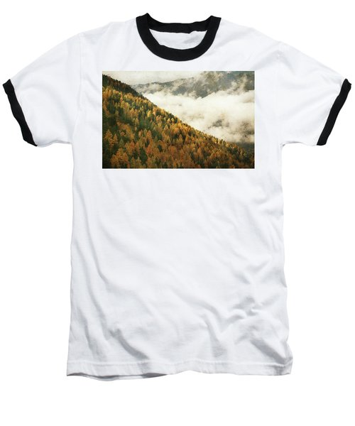 Mountain Landscape Baseball T-Shirt